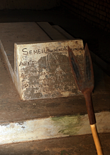 Kakungulu's Grave, Gangama, Mount Elgon, Uganda