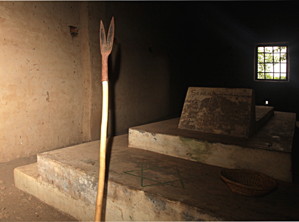 Kakungulu's Grave Near the House in Gangama, at the Foot of Mount Elgon, Uganda
