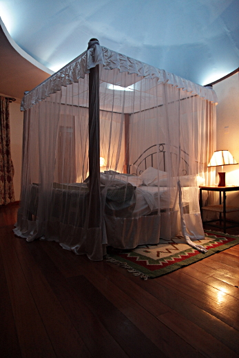 Bed with Mosquito Net, Eldoret, Kenya