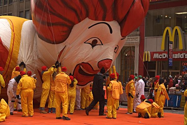 Deflating Ronald McDonald