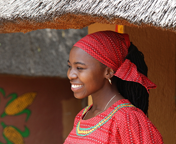 Sun City - African Native Dress